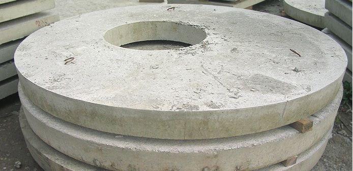 Бетонная крышка перекрытия колода ПП 20.1